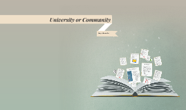 University or Community