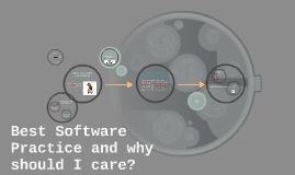 Copy of Copy of Best software practice