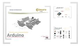 Presentación Arduino Camara Comercio