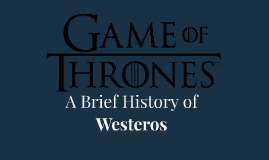 A Brief History of