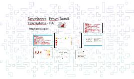 Descritores - Prova Brasil