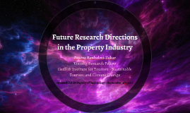 Future Research Directions in the Property Industry