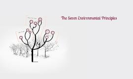 The Seven Environmental Principles