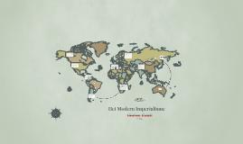 Copy of De moderne vorm van imperialisme