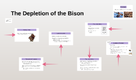 The Depletion of the Bison
