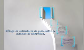 Ráfaga de estructuras de correlación de modelos de teletrafico.