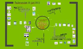 Postersession 10. juni 2013