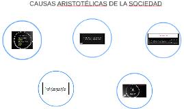CAUSAS ARISTOTÉLICAS DE LA SOCIEDA