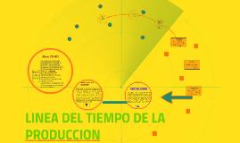 LINEA DEL TIEMPO DE LA PRODUCCION