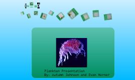 Plankton presentation
