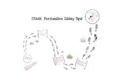 Writing a STAAR Persuasive Essay