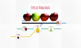 Tipo de Manzanas