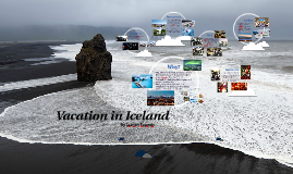 Vacation in Iceland