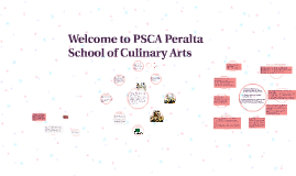 Welcome to PSCA Peralta School of Culinary Arts