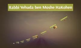 Rabbi Yehuda ben Moshe HaKohen