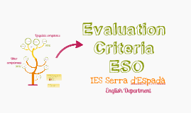 Evaluation Criteria ESO