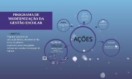 Copy of PROGRAMA DE MODERNIZAÇÃO DA GESTÃO ESCOLAR