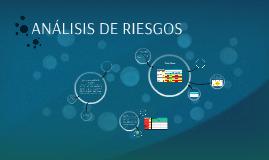 ANALISIS DE RIESGOS