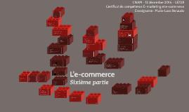 L'e-commerce sixième partie