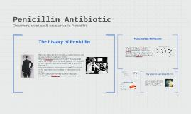 Copy of Penicillin Antibiotic