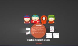 Copy of Crítica hacia los contenidos de la serie South Park
