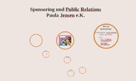 Sponsoring und Public Relations