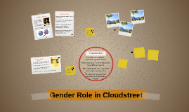 Gender Role in Cloudstreet
