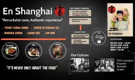 En Shanghai 宴