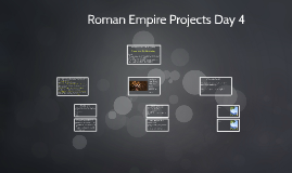 Roman Empire Projects Day 4