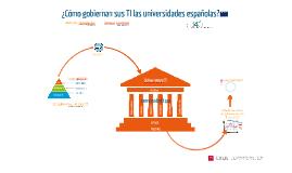 Metared ¿Cómo gobiernan sus TI las universidades españolas?
