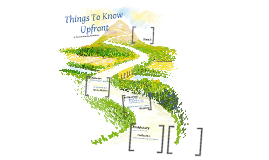 Things to Know Upfront