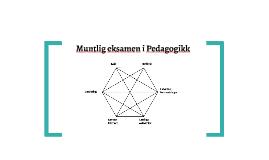 Muntlig eksamen i Pedagogikk