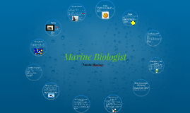 marine biologist - Criminal Research Specialist