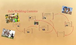 Zulu Wedding Customs