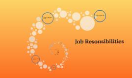 Job Resonsibilities