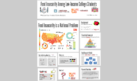 Copy of Food Insecurity Among Low-Income College Students