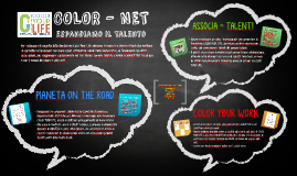 Copy of DA COLOR YOUR LIFE A UNA RETE DI TALENTI