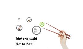 kintaro sushi resto bar