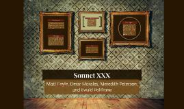 Sonnet XXX