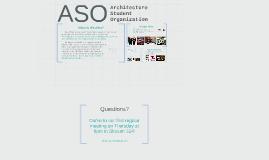 Architecture Student Organization