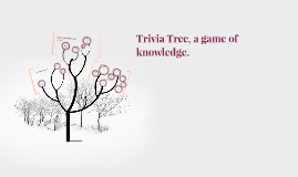 Trivia Tree, a game of knowledge.
