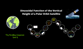 Copy of Sinusoidal Function of the Orbit of a Satellite
