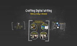 Crafting Digital Writing