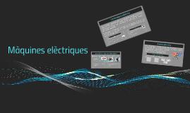 Màquines elèctriques