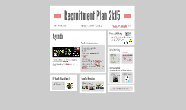 Recruitment Plan 2015