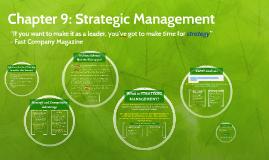 Chapter 9: Strategic Management