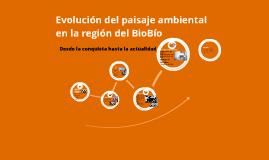 Evolución del paisaje ambiental en la región del Biobío, desde la conquista.