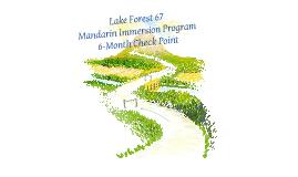 Mandarin Immersion - Mid-Year Update