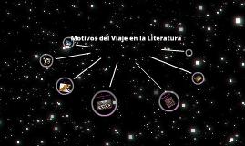 Motivos del Viaje en la Literatura