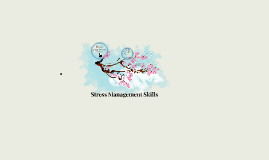 Stress Management - Skills for the World of Work